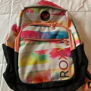 Roxy multicolor backpack with laptop section
